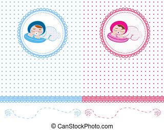 recién nacido, plano de fondo
