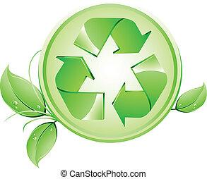 reciclagem, logotipo
