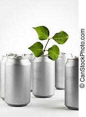reciclar, latas
