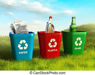 reciclar los compartimientos
