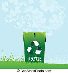 reciclar, natural