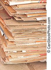 reciclar, papeles