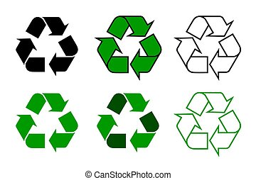 reciclar, symdol, conjunto