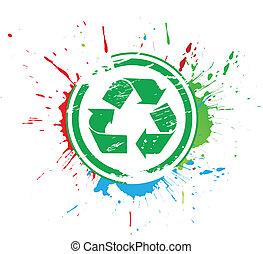 recicle, ícone