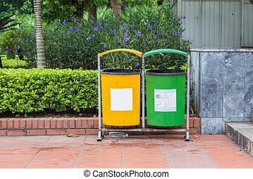 recicle cajón, piso