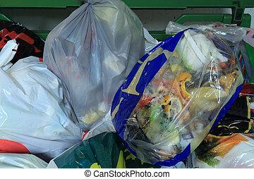 recicle, quarto residencial, lixo