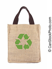 recicle, saco, ecologia, shopping