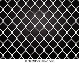 recinzione di fil di ferro