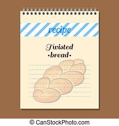 Recipe Book Twisted Bread