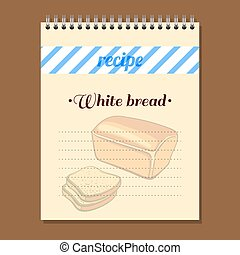 Recipe Book White Bread