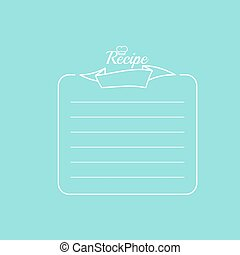 Recipe card with banner