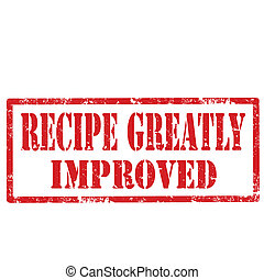 Recipe Greatly Improved-stamp