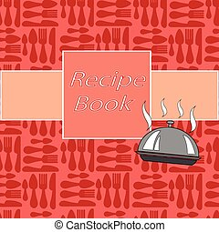Recipes card with different kitchen