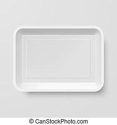 recipiente comida, plástico