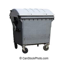 recipiente, lixo