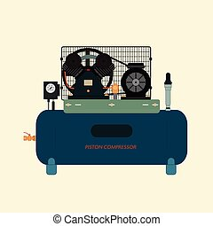Reciprocating Piston Air Compressor