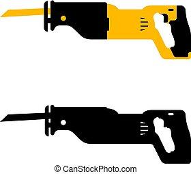 Reciprocating saw tool