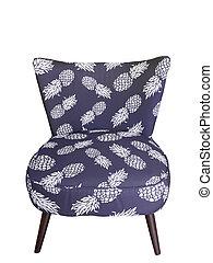 Recliner blue chair