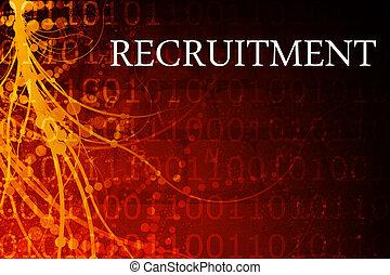 reclutamento, astratto