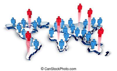 reclutamento, globale