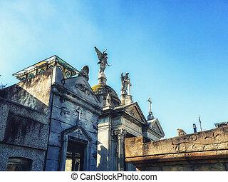 recoleta, cemetery., buenos aires, argentine