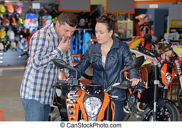 recommendation on the motorbike