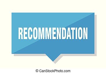 recommendation price tag - recommendation blue square price...