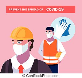 recommendations to prevent covid in industry operators ...