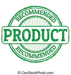 Recommended product stamp