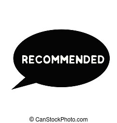 recommended rubber stamp