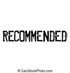 recommended rubber stamp black. Sign, label sticker