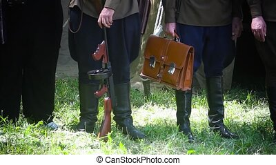 reconstruction of costumes of the second world war