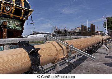 Reconstruction of the VOC ship The Batavia - Construction of...