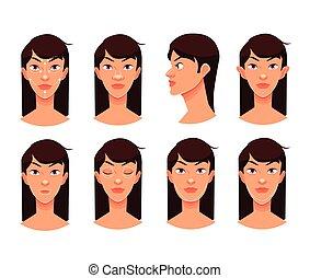 reconstructive, 整形手術, 臉