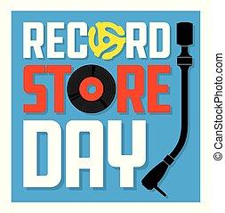 Record Store Day Album Cover Design.