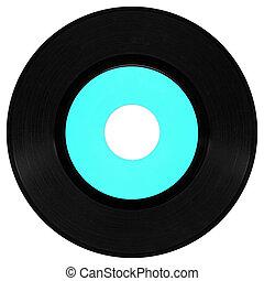Record - Vinyl record vintage analog music recording medium