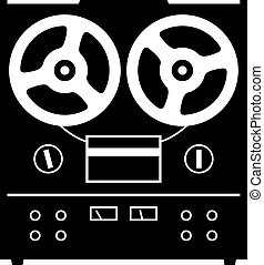 Recorder - Reel to reel tape deck player recorder