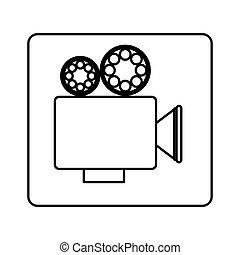 recorder short film icon