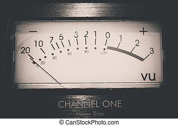 Audio Equipment - Recording Audio Equipment in recording...