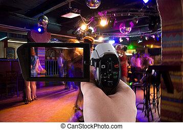 Recording club party