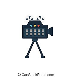 recording flat icon