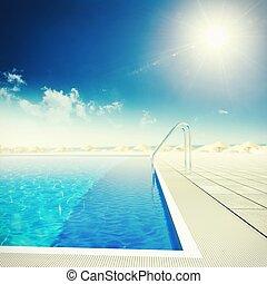 recorra piscina natação