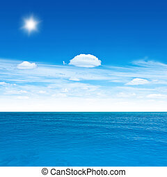 recorrido del océano