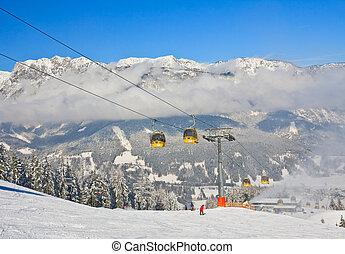 recours, autriche, schladming, ski