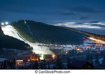 recours, ski, bukovel
