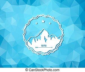recours, ski, logo