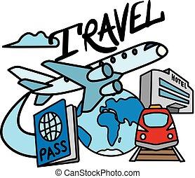 recours, voyage, service