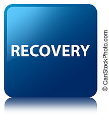 Recovery blue square button