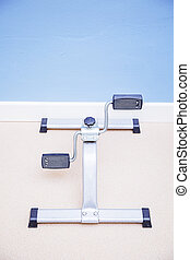 Recovery equipment using by physiotherapist in rehabilitation
