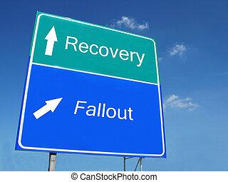 recovery-fallout, sinal estrada